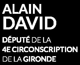 Alain David, député de la 4ème Circonscription de la Gironde